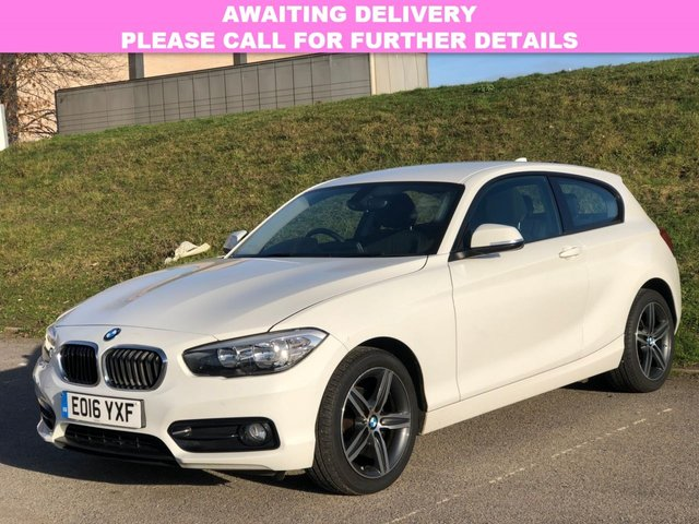 View our 2016 16 BMW 1 SERIES 1.5 116D SPORT 3d 114 BHP