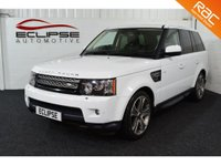 USED 2013 LAND ROVER RANGE ROVER SPORT 3.0 SDV6 HSE BLACK 5d AUTO 255 BHP