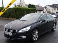 USED 2014 14 PEUGEOT 508 2.0 HDI ALLURE 4d 140 BHP ZERO DEPOSIT FINANCE AVAILABLE