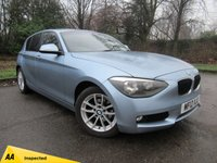 USED 2012 12 BMW 1 SERIES 2.0 116D SE 5d AUTO 114 BHP AIR CONDITIONING, BLUETOOTH