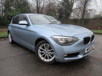2012 BMW 1 SERIES 2.0 116D SE 5d AUTO 114 BHP £9000.00