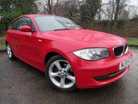 USED 2010 59 BMW 1 SERIES 2.0 118D SPORT 3d 141 BHP LOW MILEAGE FAMILY CAR