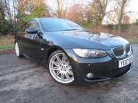 USED 2007 07 BMW 3 SERIES 3.0 335D M SPORT 2d AUTO 282 BHP FANTASTIC SPECIFICATION, FULL LEATHER