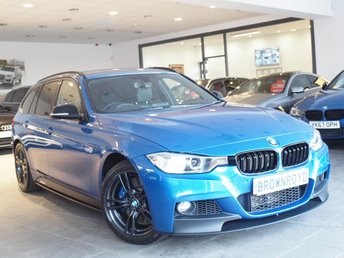 2014 BMW 3 SERIES 3.0 335D XDRIVE M SPORT TOURING 5d AUTO 309 BHP £18490.00