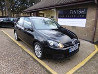 USED 2012 12 VOLKSWAGEN GOLF 2.0 MATCH TDI BLUEMOTION TECHNOLOGY 5d 138 BHP * £30 ROAD TAX * 2 KEEPERS * 2 KEYS * DAB RADIO * £0 DEPOSIT FINANCE AVAILABLE *