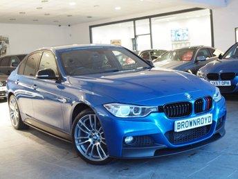 2013 BMW 3 SERIES 2.0 320D XDRIVE M SPORT 4d AUTO 181 BHP £15890.00