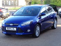 USED 2014 14 FORD FOCUS 1.0 ZETEC 5d 124 BHP new engine supplied and fitted by ford