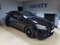 USED 2017 17 MERCEDES-BENZ A CLASS 1.6 A 200 AMG LINE 5d AUTO 154 BHP * ONE OWNER * FSH * SUPERB SPEC *