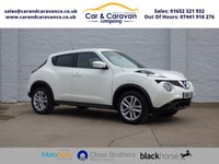 USED 2017 67 NISSAN JUKE 1.2 ACENTA DIG-T 5d 115 BHP One Owner Full Dealer History Buy Now, Pay Later Finance!