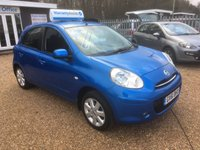 USED 2011 61 NISSAN MICRA 1.2 ACENTA 5d 79 BHP FULLY AA INSPECTED - FINANCE AVAILABLE