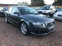 USED 2007 07 AUDI A4 2.0 TDI S LINE TDV 4d 140 BHP VERY CLEAN WITH FULL HISTORY