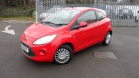 USED 2014 14 FORD KA 1.2 EDGE 3d 69 BHP ONLY 1 LADY OWNER FROM NEW