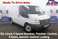 2013 FORD TRANSIT 2.2 280 125 BHP, Ply Lined, Heated Screen, Traction Control, 6 Speed Gearbox, AUX, MP3 £6980.00