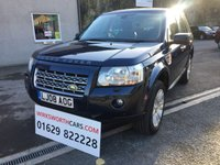 USED 2008 08 LAND ROVER FREELANDER 2 2.2 TD4 HSE 5d AUTO 159 BHP *STUNNING**CHEAPER TAX**LEATHER**AUTOMATIC**SAT NAV*