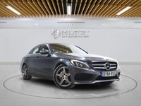 USED 2014 64 MERCEDES-BENZ C CLASS 2.1 C220 BLUETEC AMG LINE PREMIUM 4d AUTO 170 BHP +  Leather Interior, Bluetooth