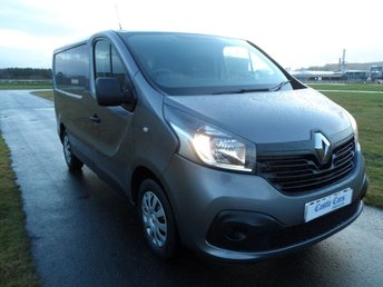 2014 RENAULT TRAFIC 1.6 SL27 BUSINESS PLUS ENERGY DCI S/R P/V 1d 120 BHP £SOLD