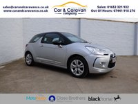USED 2015 64 CITROEN DS3 1.2 PURETECH DSIGN PLUS 3d 82 BHP Service History Air Con £20Tax Buy Now, Pay Later Finance!