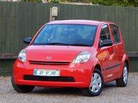 2005 DAIHATSU SIRION 1.0 S 5d 69 BHP £1770.00