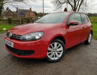 2011 VOLKSWAGEN GOLF 2.0 MATCH TDI BLUEMOTION TECHNOLOGY 3d 138 BHP £4850.00