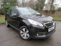 USED 2016 16 PEUGEOT 2008 1.2 PURE TECH ACTIVE 5d 82 BHP TOUCH SCREEN MEDIA, BLUETOOTH