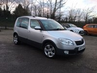 USED 2007 57 SKODA ROOMSTER 1.4 SCOUT 16V 5d WITH  REVERSING SENSORS AND LONG MOT PART EXCHANGE TO CLEAR