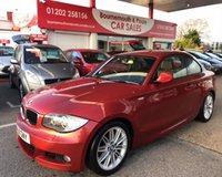 2011 BMW 1 SERIES 2.0 120D M SPORT 2d 175 BHP £6995.00