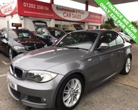 USED 2011 11 BMW 1 SERIES 2.0 123D M SPORT 2d 202 BHP COUPE 6 SPEED DIESEL