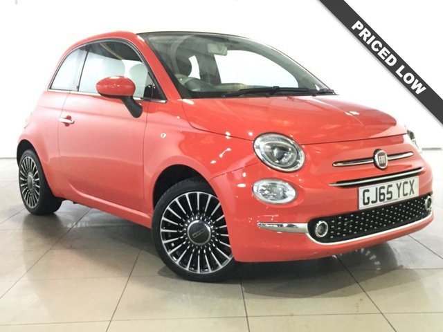 View our 2015 65 FIAT 500 0.9 TWINAIR C LOUNGE 3d 105 BHP