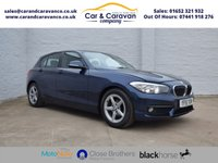 USED 2015 15 BMW 1 SERIES 1.5 116D ED PLUS 5d 114 BHP Full BMW History SAT-NAV DAB Buy Now, Pay Later Finance!