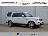 2015 LAND ROVER DISCOVERY 3.0 SDV6 HSE 5d AUTO 255 BHP £26950.00