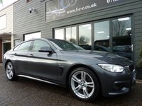 USED 2016 66 BMW 4 SERIES 2.0 420D XDRIVE M SPORT GRAN COUPE 4d 188 BHP