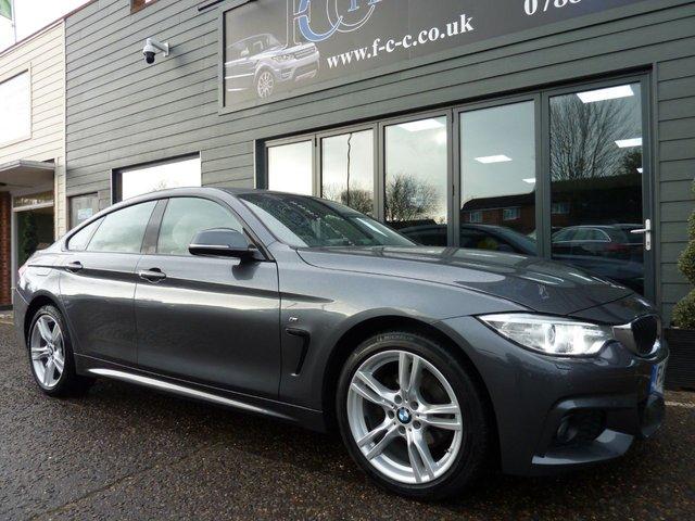 2016 66 BMW 4 SERIES 2.0 420D XDRIVE M SPORT GRAN COUPE 4d 188 BHP