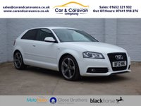 USED 2012 12 AUDI A3 2.0 TDI S LINE SPECIAL EDITION 3d 140 BHP Full AUDI History + Sensors Buy Now, Pay Later Finance!