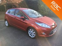 USED 2008 58 FORD FIESTA 1.4 ZETEC 16V 5d 96 BHP Part Exchange to clear