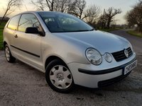 USED 2005 54 VOLKSWAGEN POLO 1.2 E 3d + 12 MONTH MOT + 2FORMER KEEPERS +  HISTORY