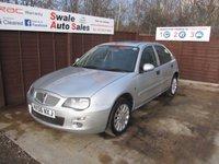 2006 ROVER 25 1.4 GLI 16V 5d 84 BHP £1295.00
