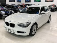 2014 BMW 1 SERIES 1.6 116D EFFICIENTDYNAMICS NAV 5d 114 BHP HATCH £8295.00