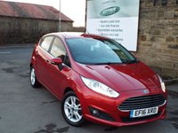 USED 2016 16 FORD FIESTA 1.0 ZETEC 5d 99 BHP One Owner Full Service History