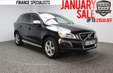 USED 2013 13 VOLVO XC60 2.4 D5 R-DESIGN AWD 5DR AUTOMATIC 212 BHP SAT NAV LEATHER SERVICE HISTORY + HEATED LEATHER SEATS + SATELLITE NAVIGATION + REVERSE CAMERA + BLUETOOTH + PARKING SENSOR + PANORAMIC ROOF + PRIVACY GLASS + CRUISE CONTROL + CLIMATE CONTROL + MULTI FUNCTION WHEEL + DAB RADIO + 18 INCH ALLOY WHEELS
