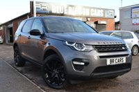 USED 2016 16 LAND ROVER DISCOVERY SPORT 2.0 TD4 HSE BLACK 5d AUTO 180 BHP 1 DR OWNER, PAN ROOF, 7 SEATS