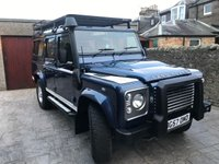 USED 2007 57 LAND ROVER DEFENDER 2.4 110 XS STATION WAGON 5d 122 BHP FSH+7 SEATS+HIGH SPEC+1YR MOT
