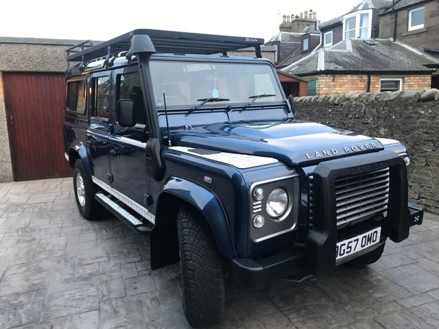 2007 57 LAND ROVER DEFENDER 2.4 110 XS STATION WAGON 5d 122 BHP