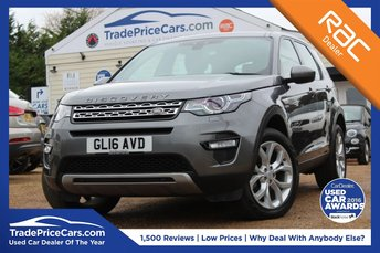 2016 LAND ROVER DISCOVERY SPORT 2.0 TD4 HSE 5d AUTO 180 BHP