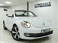 USED 2015 15 VOLKSWAGEN BEETLE 1.4 DESIGN TSI BLUEMOTION TECHNOLOGY 2d 148 BHP