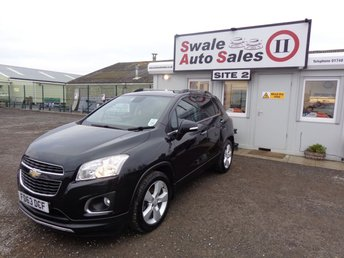 View our CHEVROLET TRAX