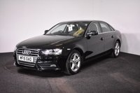 USED 2015 15 AUDI A4 2.0 TDI ULTRA SE TECHNIK 4d 161 BHP FULL LEATHER + SAT NAV + PARK PILOT