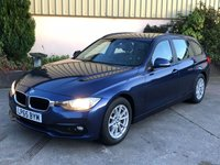 2015 BMW 3 SERIES 2.0 320D ED PLUS TOURING 5d 161 BHP £14450.00