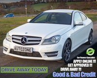 2013 MERCEDES-BENZ C CLASS 2.1 C220 CDI BLUEEFFICIENCY AMG SPORT 2d 170 BHP £11995.00