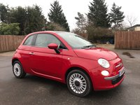 USED 2014 14 FIAT 500 1.2 LOUNGE 3d  LOW MILEAGE, LOW INSURANCE, LOW PRICE NO DEPOSIT FINANCE ARRANGED, APPLY HERE NOW