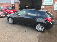 USED 2011 61 VAUXHALL ASTRA 1.4 EXCITE 5d 98 BHP